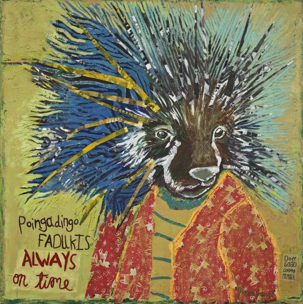 Poingadingo Fadukis by Yvonne Gaudet