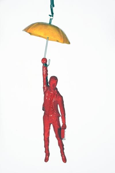 Umbrella With Businessman by Ancizar Marin