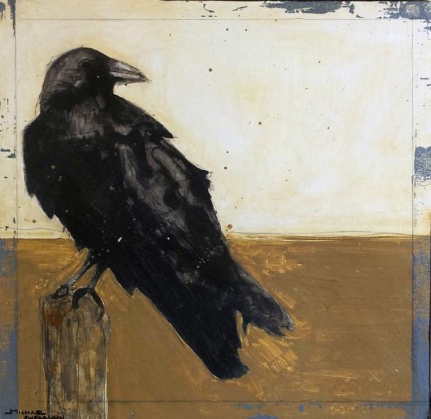 Crows in the Wind II by Michael Swearngin