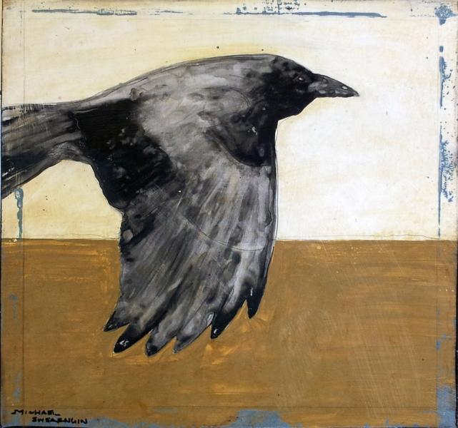Crows in the Wind III by Michael Swearngin