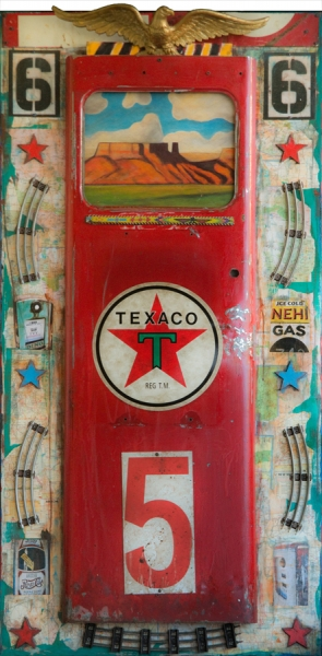 Texaco South West by Dave Newman