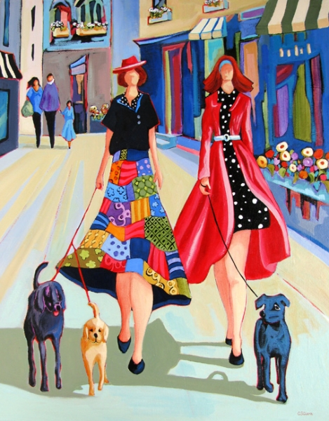 Strut the Pups by Carolee Clark