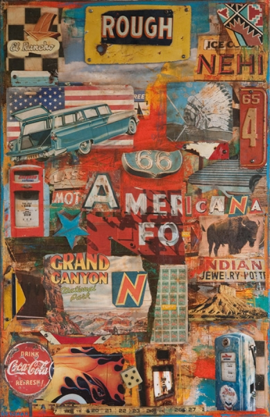 Rough N Tuff Americana by Dave Newman