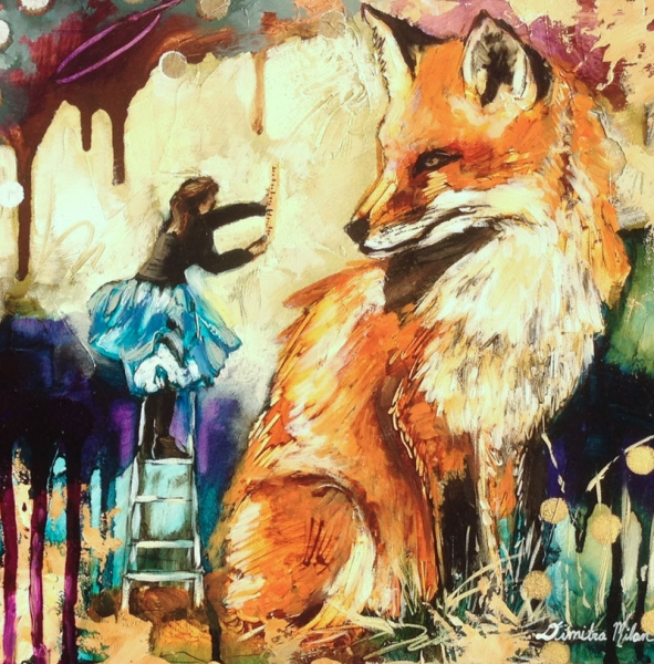 Out Foxed the Ruler by Dimitra Milan